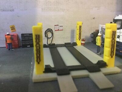3d Printed 4 Post Ramp Would Suit 1/76. 1/72 Scale And 00 Gauge • 6.50£