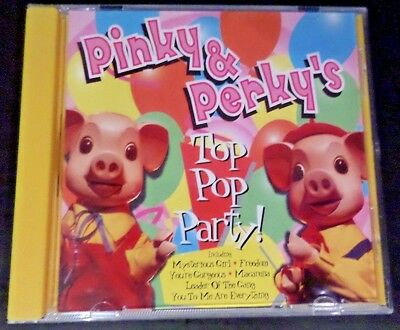 PINKY & PERKY - Top Pop Party - CD - New & Sealed • 15.99£