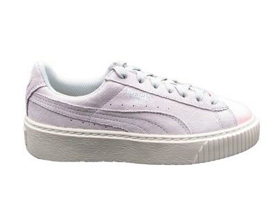 purchase cheap ff92d 1a70f puma suede platform rosa
