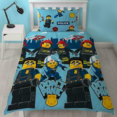 Disney Cars 'Dinoco' Single Duvet Cover Bed Set Kids Boys Bedding Reversible • 14.99£