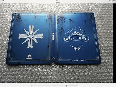AU77.49 • Buy Far Cry 5 Hope County Steel Book Only