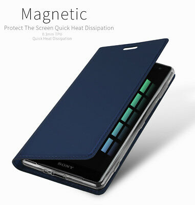 AU9.06 • Buy For Sony Xperia Luxury Slim Flip Leather Case Card Stand Magnetic Wallet Cover