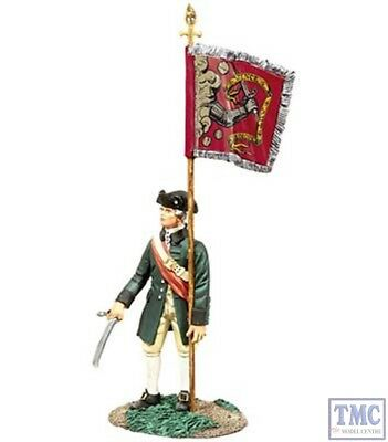 $48.52 • Buy B18054 Colonial Militia Flag-bearer Bedford Colours American War Of Independence