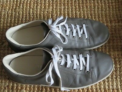 AU240 • Buy Men's Gucci Leather Grey Sneakers Size 10G, Pre Loved