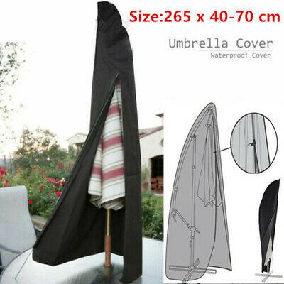 AU20.99 • Buy Patio Cantilever Umbrella Cover Garden Parasol Sun/Rain/Dust Protection Outdoor