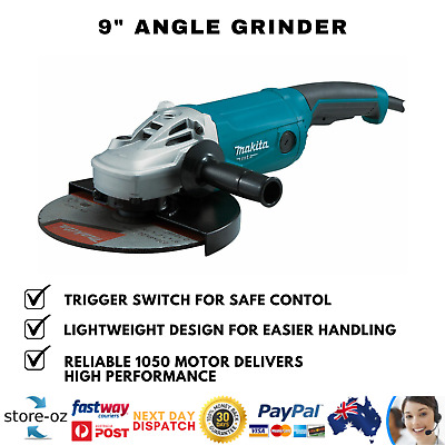 AU184.50 • Buy  Makita 9  Angle Grinder 230mm 9 Inch Powerful 2000W Cord M9001G Trigger Switch