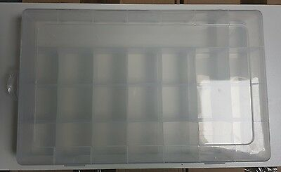 Multi Compartment Storage Box 23 Sections Plastic Same Day Dispatched  • 6.50£