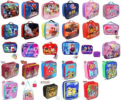 Boys Girls Kids Insulated Official Character Novelty School Lunch Bag • 4.10£