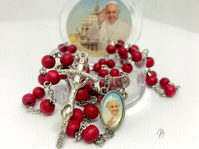 £3.98 • Buy Rosary Beads/Rosary Our Lady/Communion Gift/Rosary Rose Beads Catholic