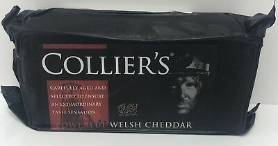 £10.99 • Buy Collier's Powerful Welsh Cheddar Cheese 1kg Not Black Bomber Cheese