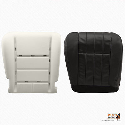 $197.49 • Buy 2005 -2007 Ford F250 Harley Davidson Driver Bottom Leather Seat Cover + Foam BLK