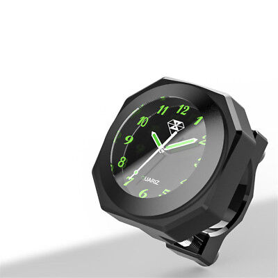 $25.27 • Buy Universal Motorcycle Black  Dial Handlebar Mount Watch Clock  Luminous