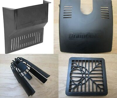 £4.49 • Buy BLACK TRADITIONAL Gully Grid Grate Drain Cover Drainage Guard Gutter Lid Cap