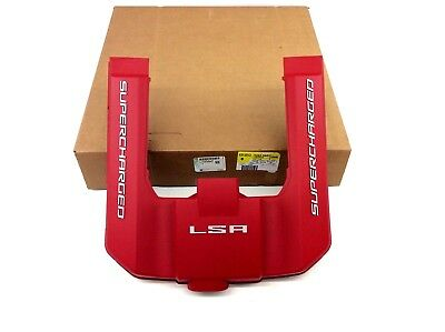 AU101.88 • Buy 12-15 Chevrolet Camaro 6.2L V8 Red Engine Appearance Cover Supercharged LSA OEM