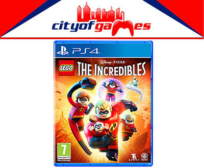 AU59.95 • Buy LEGO The Incredibles PS4 Game New & Sealed In Stock