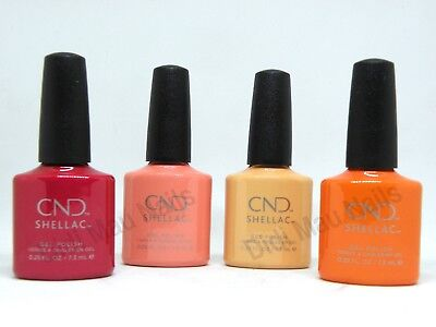 AU61.89 • Buy CND Shellac UV Gel Polish .25 Oz -BOHO SPIRIT COLLECTION SUMMER 2018 NEW!!