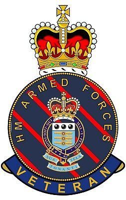 RAOC Royal Army Ordnance Corps HM Armed Forces Veterans Clear Cling Sticker • 3.84£