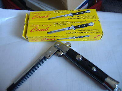 AU2.68 • Buy 1 New Switchblade Comb  Opens With Push Of The Button.for All Occasion.