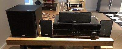 AU300 • Buy Yamaha Stereo Amplifier Including Speakers