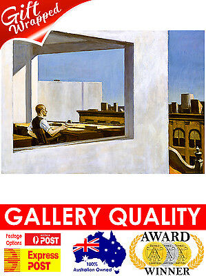 £32.40 • Buy NEW Edward Hopper, Office In A Small City, 1953, Giclee Art Print Or Canvas