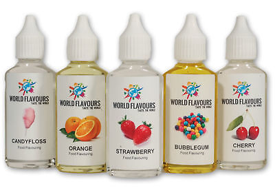 £2.19 • Buy Buy 3 Get 1 Free! Highly Concentrated Liquid Food Flavouring Cakes Drinks Sweet