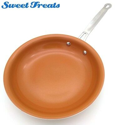 $34.99 • Buy Sweettreats Non-stick Copper Frying Pan With Ceramic Coating And Induction