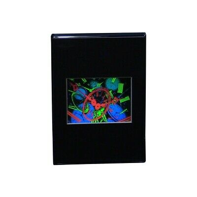 £17.99 • Buy TIME Intermediate Size Hologram Picture DESK STAND, 3D Embossed Type 5 X7