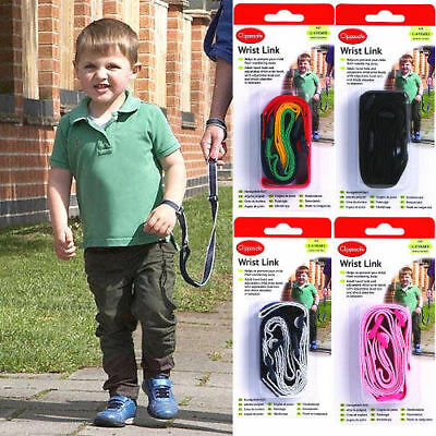 Clippasafe Wrist Rein Strap Child Link Toddler Lead Walk Safety Secure 1-4 Years • 5.75£