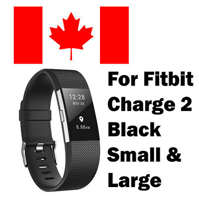 $ CDN9.99 • Buy For Fitbit Charge 2 Replacement Smart Watch Strap WristBand SMALL -  Black