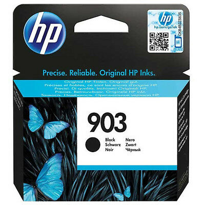 Original HP 903 Black Ink Cartridge (T6L99AE) OfficeJet Pro 6960 6970 All-in-one • 14.60£