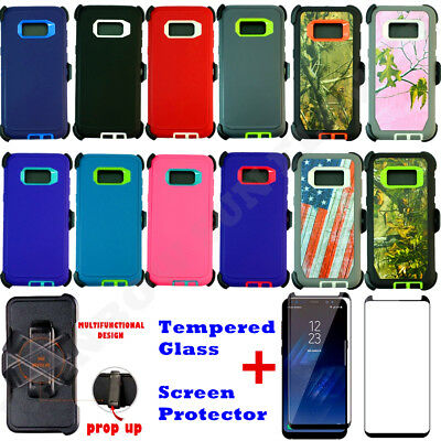 $ CDN12.08 • Buy For Samsung Galaxy S8 / S8+Plus Defender Case W/ Screen & Clip Fits Otterbox