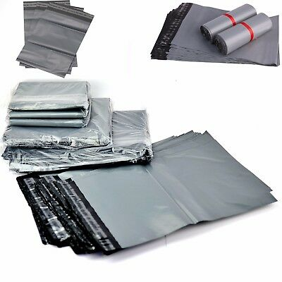 Strong Grey Mailing Bags 24 X 36  Poly Postal Postage Self Seal Packaging Sacks • 0.99£