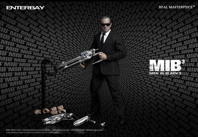 $399 • Buy Enterbay Men In Black 3 MIB Agent K Tommy Lee Jones Agent 1/6 Scale Figure MIB