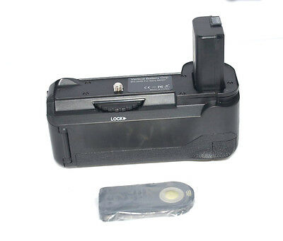 $ CDN51.60 • Buy Vertical Shutter Battery Grip + IR Remote For Sony A6000 A6400 Camera As BG-3DIR