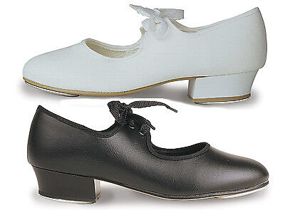 £16.50 • Buy TAP DANCING SHOES, Child & Adult Unisex, All Sizes Black Or White. New & Boxed