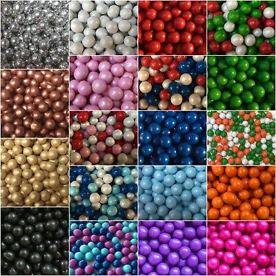 Cupcake Sprinkles Edible 6mm Chocolate Balls Chocoballs Cake Toppers Decorations • 3.50£