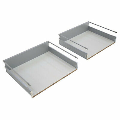 £14.25 • Buy KITCHEN DRAWER WILL FIT 500mm CABINET 450mm Deep / 2 PAN PACK (0989)