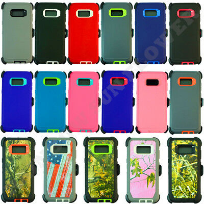 $ CDN12.58 • Buy For Samsung Galaxy S8 Plus+ Case Cover(Belt Clip Holster Fits Otterbox Defender)