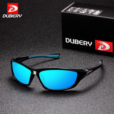 AU11.79 • Buy DUBERY 9 Colors Men Sport Polarized Sunglasses Outdoor Driving Cycling Glasses
