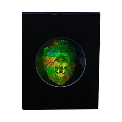 £28.81 • Buy 3D Lion Head Hologram Picture(DESK STAND), Collectible EMBOSSED Type Film