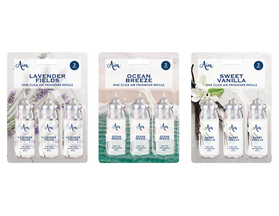 £3.79 • Buy Air Freshener Automatic And Spray Refills Compatible With Aira One Click Refill