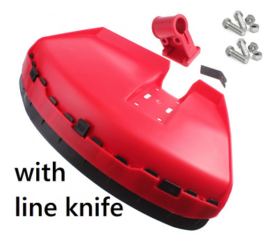 £9.95 • Buy GUARD SHIELD COVER TO FIT VARIOUS STRIMMER BRUSH CUTTER With Line Knife