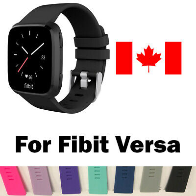 $ CDN6.99 • Buy Replacement Silicone Wrist Band Strap For Fitbit Versa & Versa 2 Band Large