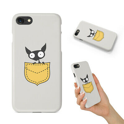 AU12.95 • Buy Minimalistic Cat 7 Back Hard Case Cover For Apple Iphone