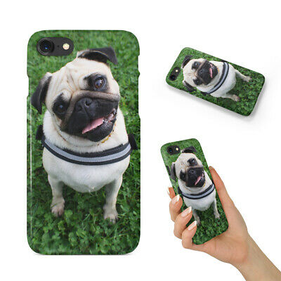 AU9.45 • Buy Cute Dog Puppy Canine Pug 11 Back Hard Case Cover For Apple Iphone