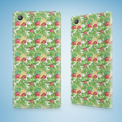 AU11.95 • Buy Mixed Vegetables Pattern 1 Hard Case Sony Xperia Z Z1 Z2 Z3 Z4 Z5 Compact