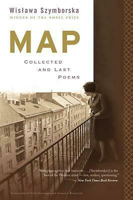 Map: Collected And Last Poems By Wislawa Szymborska (English) Paperback Book Fre • 16.44£