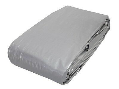 AU37.95 • Buy 3.6m X 5.4m Heavy Duty PE Poly Tarp Camping Cover  Water UV Rot Proof