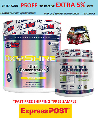 AU86.90 • Buy Ehplabs Oxyshred Thermogenic Fat Burning & Lcarnitine/ Express /weight Loss//
