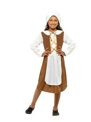 £17.99 • Buy Girls Tudor Medieval Fancy Dress Costume Childrens Book Day Outfit